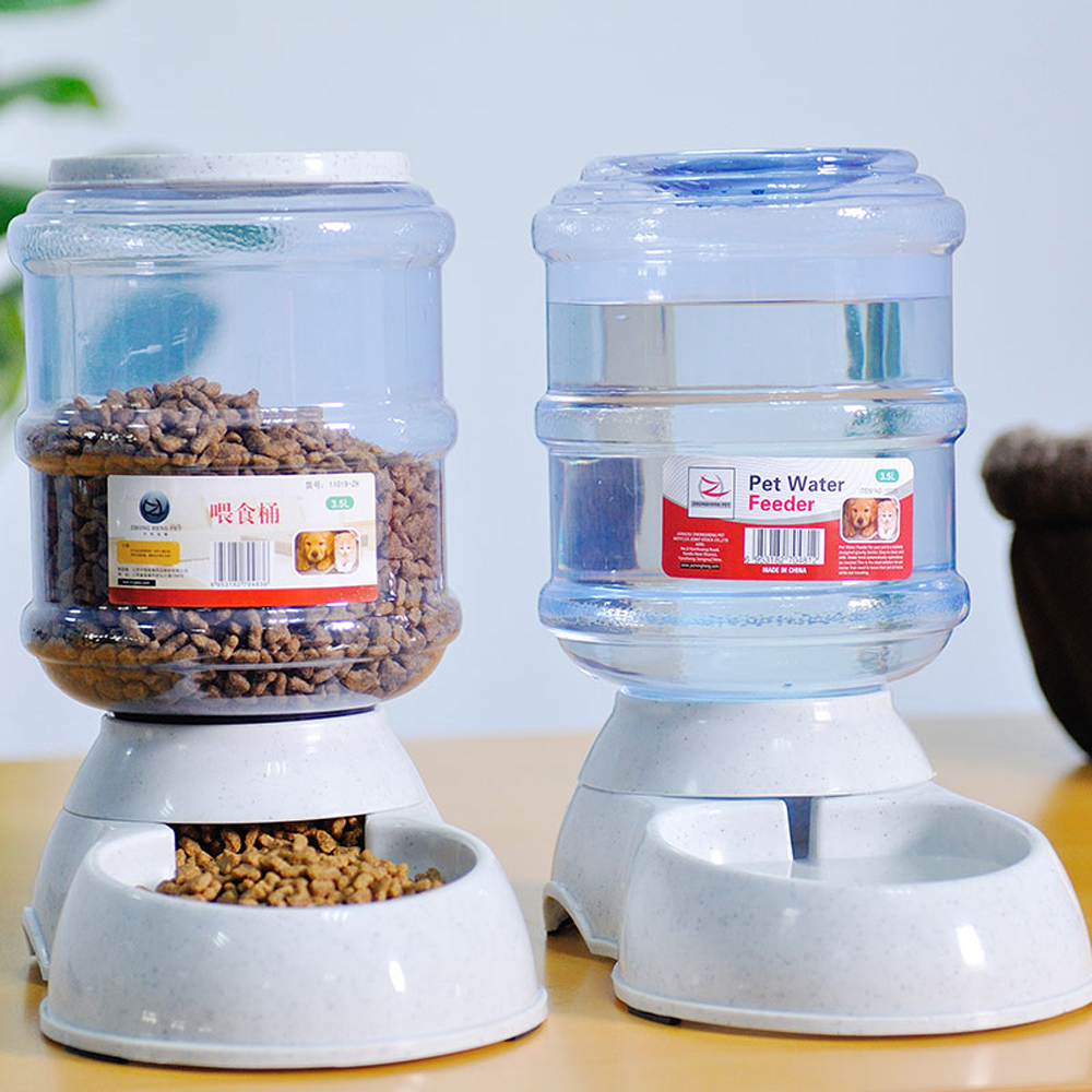 Automatic Cat Feeder And Water