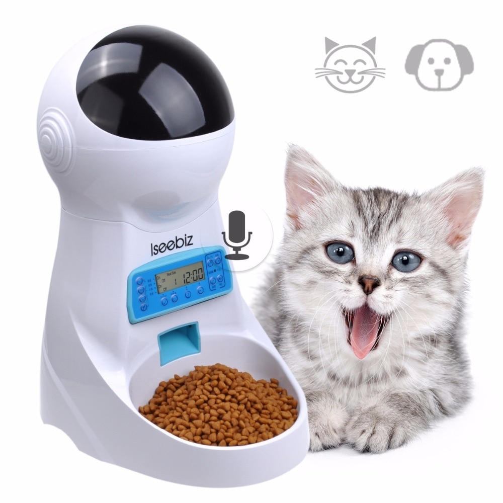 Pet Feeder with Voice Record