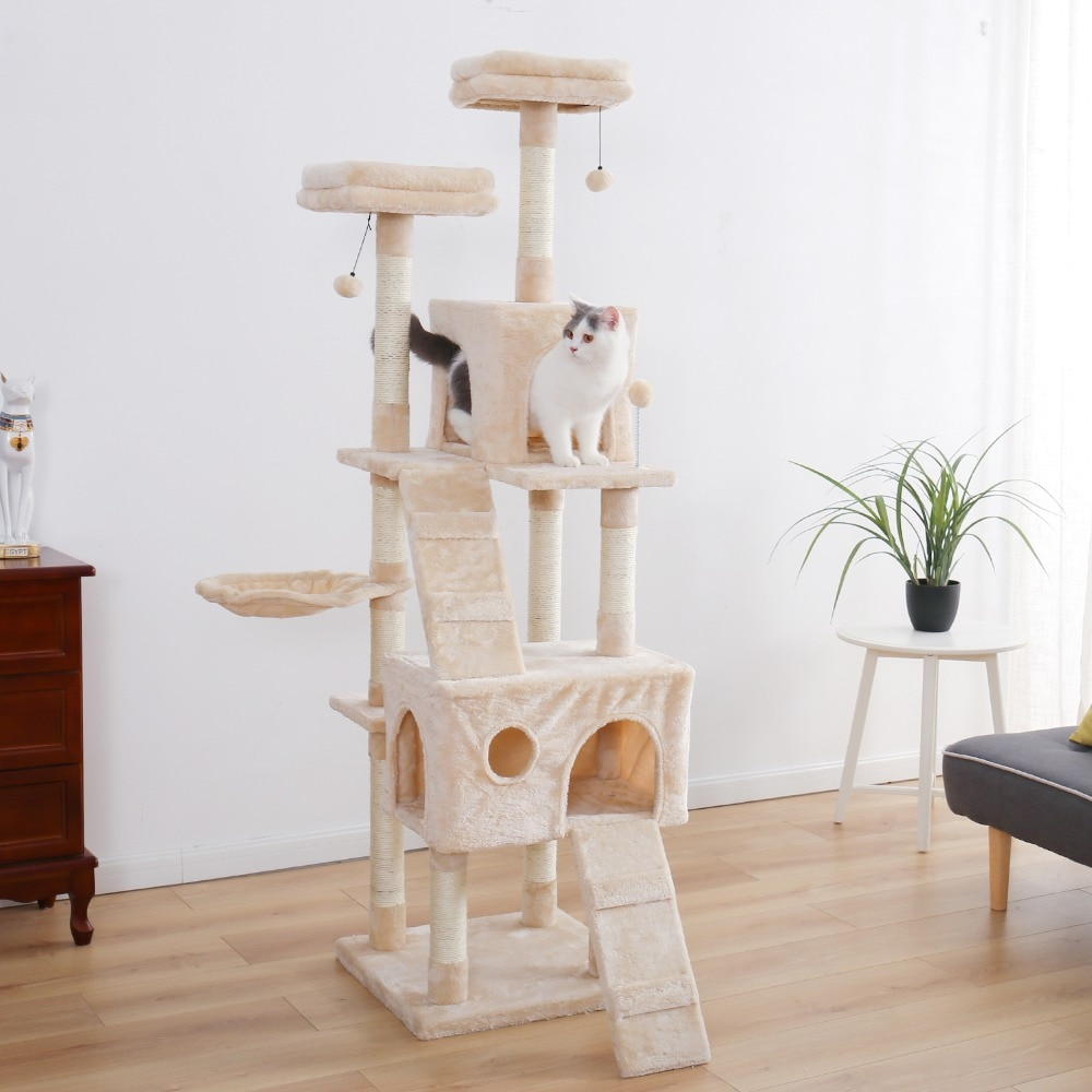 cat tower for 2 cats