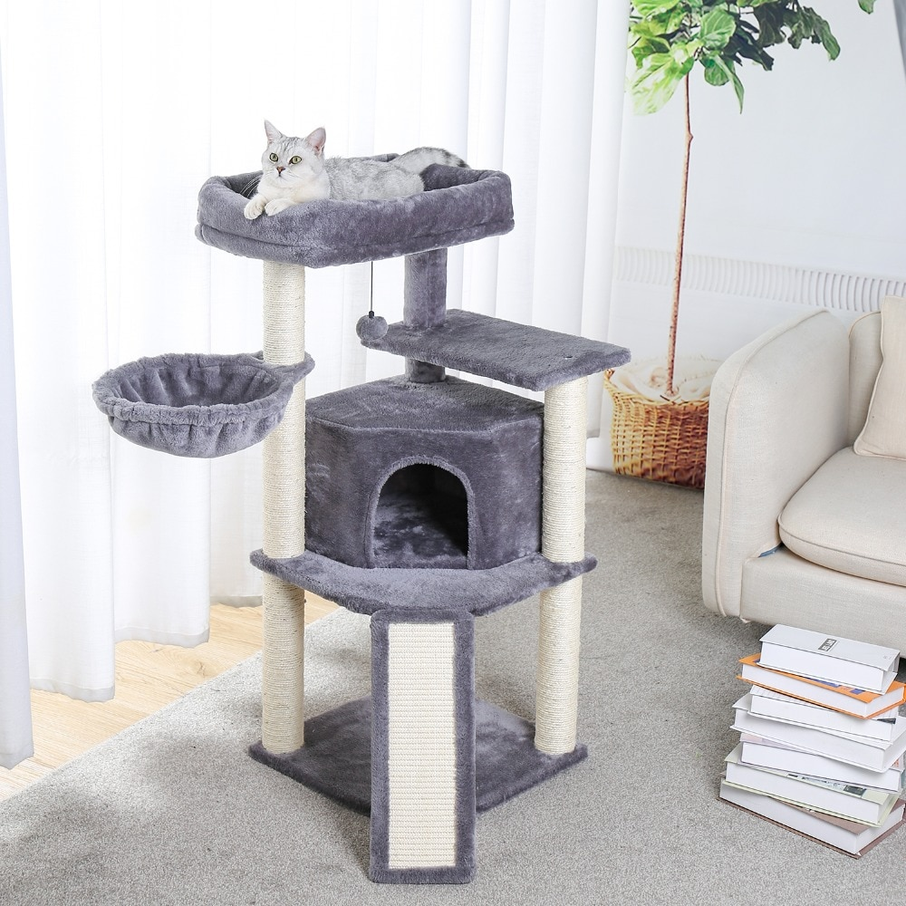 cat tower house