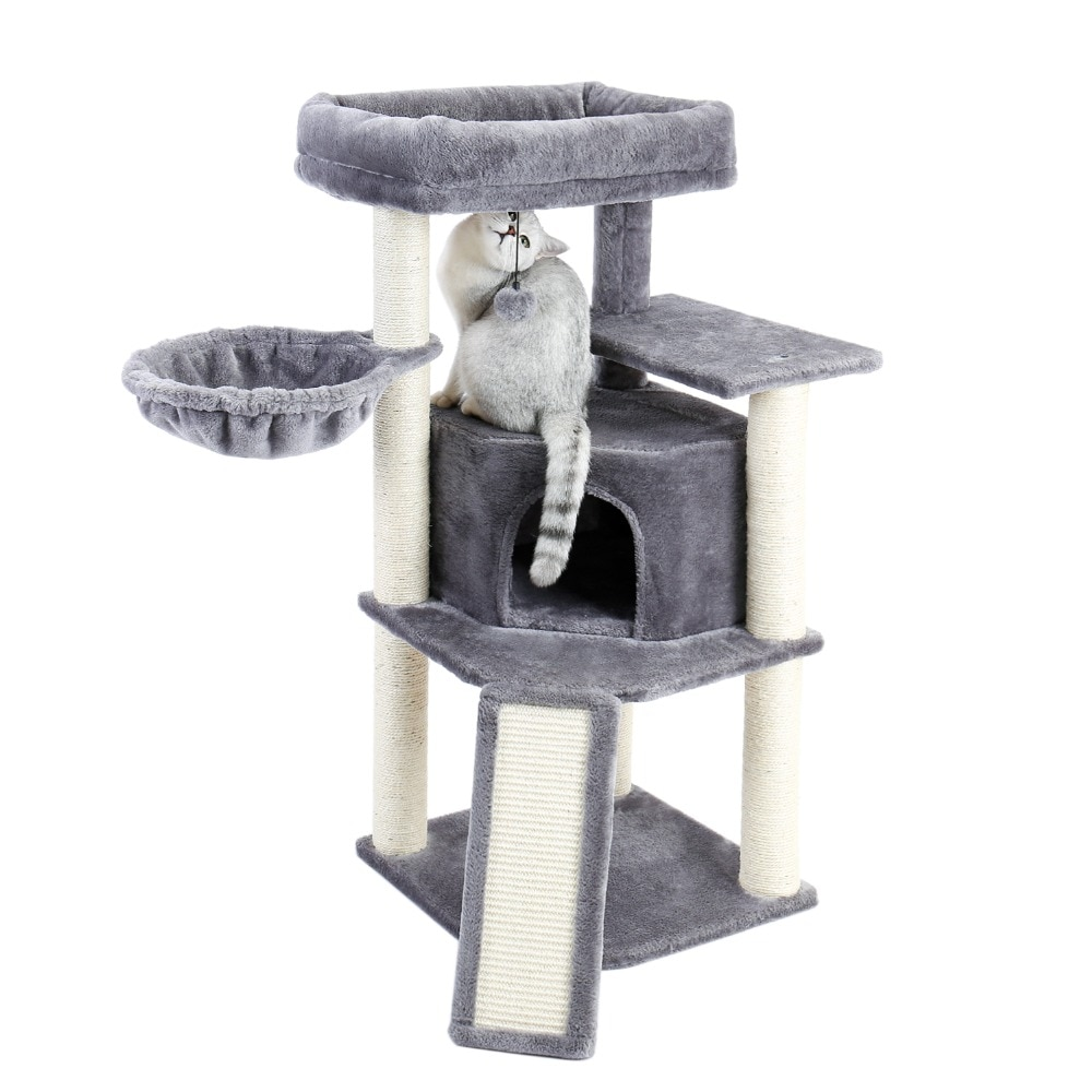 Cat House with Scratching post