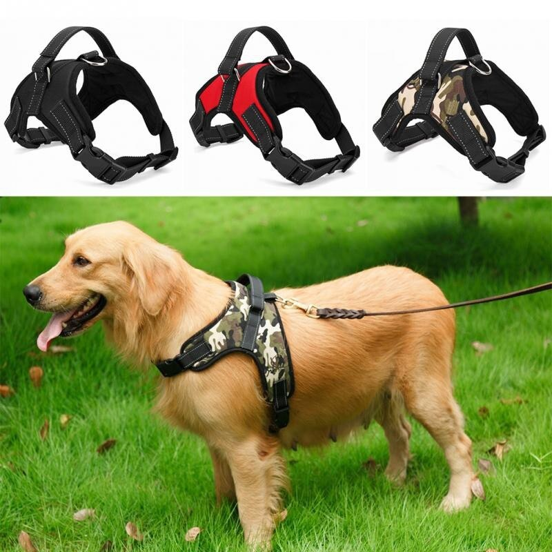 Dogs Soft Adjustable Harness